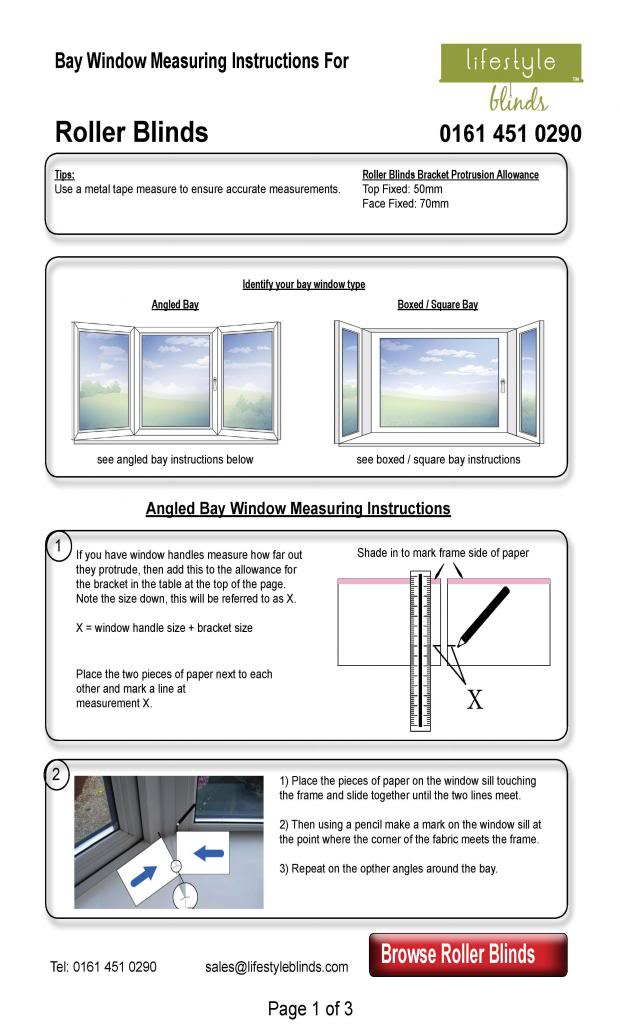 How to Measure Roller Blinds for Normal Windows