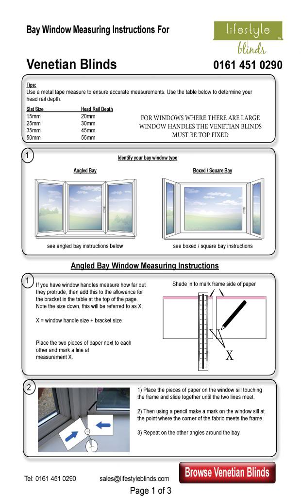 How to Measure Venetian Blinds for Normal Windows