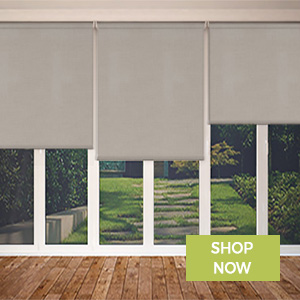 Thermal Bifolding Door Blinds