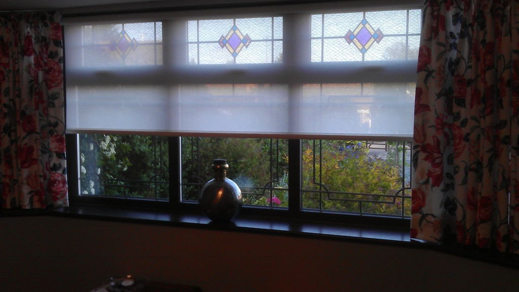 Lupin Twine Sheer Roller Blind