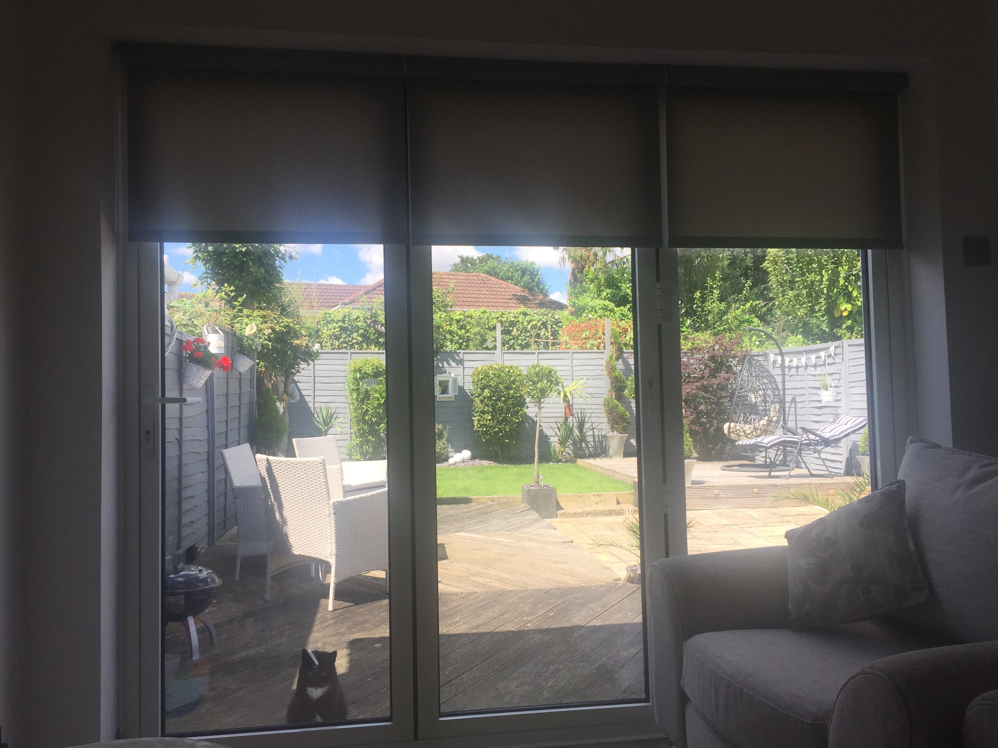 shade navy your motive roller effective matchstick sofa grey ds for blackout shades blinds room protection sheer bamboo roman living bedroom down up brown curtain lots blind treatments big pull furniture curtains window cushion white