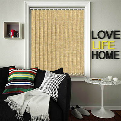 Replacement Vertical Blind Slats Asteroid Gold Main