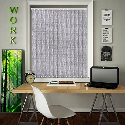 Replacement Vertical Blind Slats Asteroid Silver Main