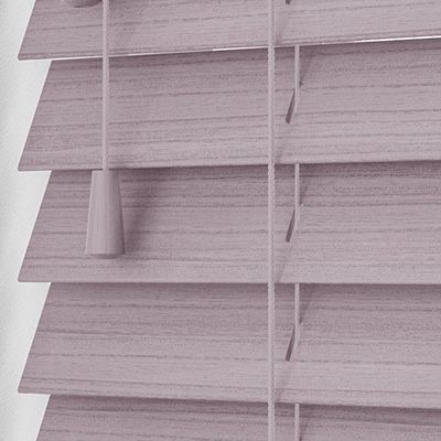 Astral Faux Wood Wooden Venetian Blind Close Up