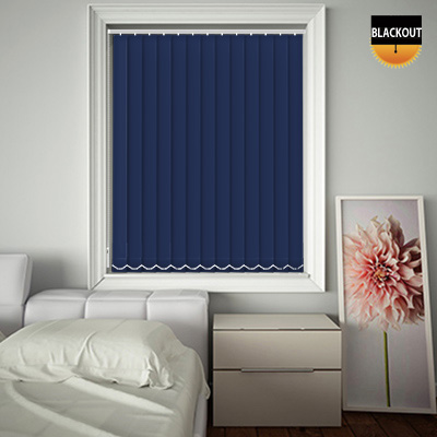Made to Measure Blackout Replacement Vertical Blind Slats Bedtime Blue Main