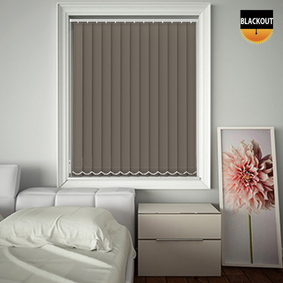 Made to Measure Blackout Replacement Vertical Blind Slats Bedtime Clay Main