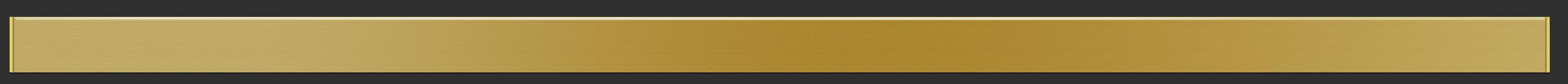 Bedtime White Blackout Roller Blinds With Gold Bottom Bar Flat Closeup