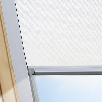 Blackout Blinds For Keylite Roof Skylight Windows Blossom White Frame One