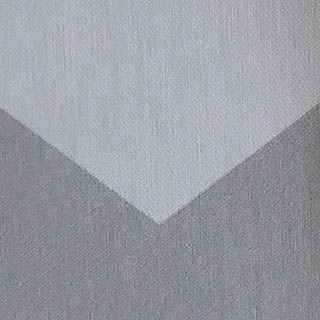Made to Measure Spring Loaded Cordless Roller Blinds Chevron Gris Zoomed