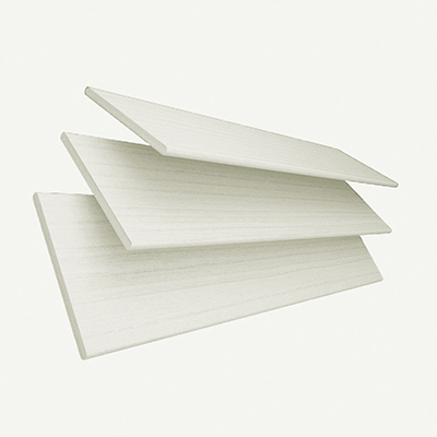 Cirrus Faux Wood with White Tape  Wooden Venetian Blind 3 Slats