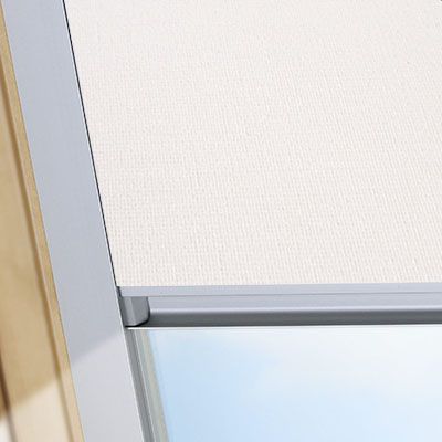 Blackout Blinds For Optilight Roof Skylight Windows Delicate Cream Frame One