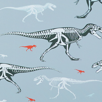 Made to Measure Thermal Blackout Roller Blinds Dino Snooze