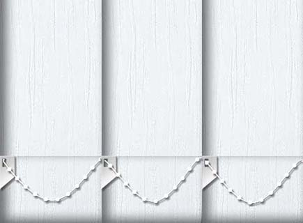 Made to Measure Vertical Blinds Dune Frost 3 Slats