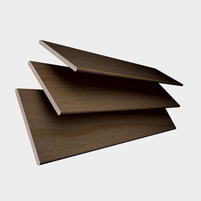 Fired Walnut  Wooden Venetian Blind 3 Slats