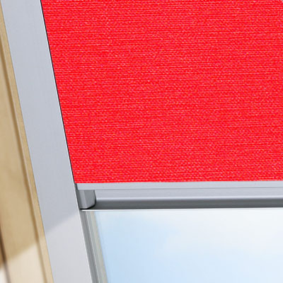 Blackout Blinds For Keylite Roof Skylight Windows Flame Red Frame One