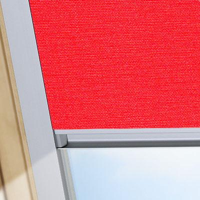 Blackout Blinds For Tyrem Roof Skylight Windows Flame Red Frame One