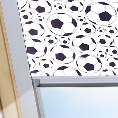 Blackout Blinds For Optilight Roof Skylight Windows Footballs Frame One