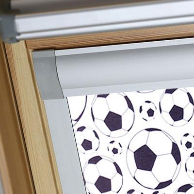 Blackout Blinds For Sunlux Roof Skylight Windows Footballs Frame Two