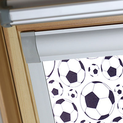 Blackout Blinds For VELUX Roof Skylight Windows Footballs Frame Two