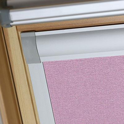 Blackout Blinds For Optilight Roof Skylight Windows Gentle Lavender Frame Two
