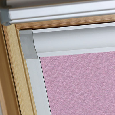 Blackout Blinds For VELUX Roof Skylight Windows Gentle Lavender Frame Two