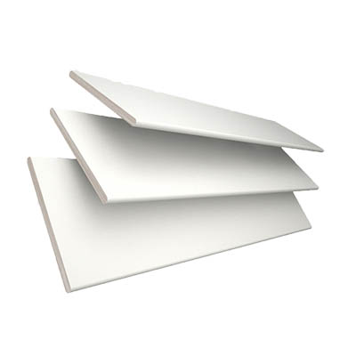 Glacier White with Arctic Tape  Wooden Venetian Blind 3 Slats