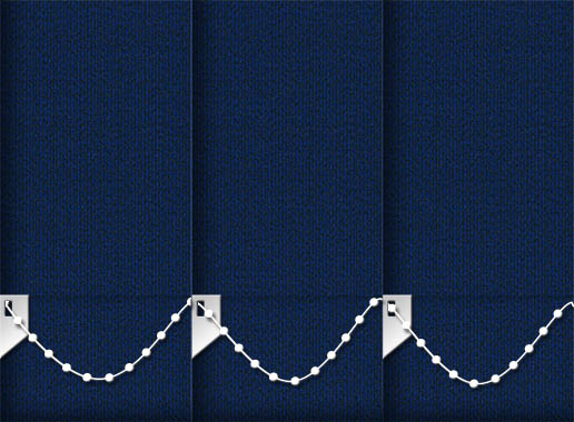 Glamour Sapphire Vertical Blinds Detailed Main Image