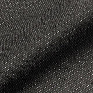 Made to Measure Spring Loaded Cordless Roller Blinds Glitter Stripe Black Zoom