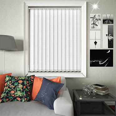 Replacement Vertical Blind Slats Glitter Stripe Silver Main