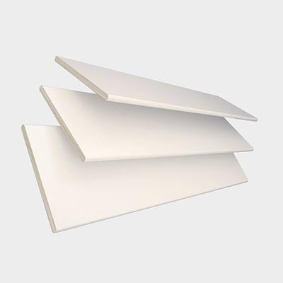 Highshine White Faux Wood with White Tape  Wooden Venetian Blind 3 Slats