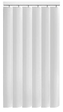 Made to Measure Rigid PVC Waterproof Replacement Vertical Blind Slats Jeren Chalk White 3Slats Zoom
