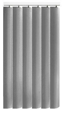 Made to Measure Rigid PVC Waterproof Replacement Vertical Blind Slats Jeren Grey 3Slats Zoom