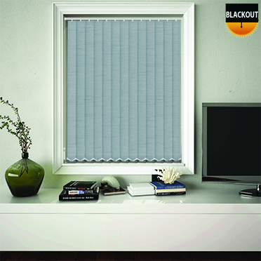Made to Measure Blackout Replacement Vertical Blind Slats Jordan Alava Main