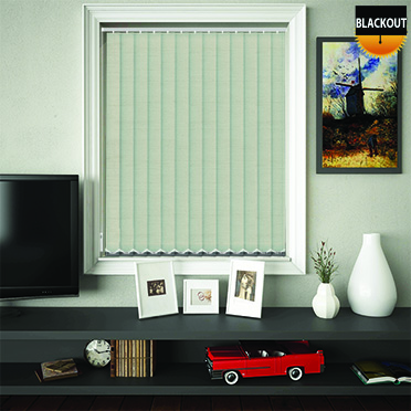 Made to Measure Blackout Replacement Vertical Blind Slats Jordan Navarre Main