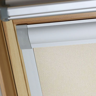 Blackout Blinds For Balio Roof Skylight Windows Latte Frame Two