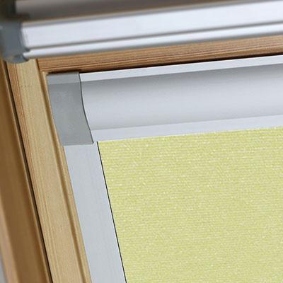 Blackout Blinds For VELUX Roof Skylight Windows Light Green Frame Two