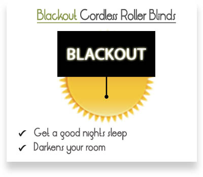 Lilliani Beige Blackout Roller Blinds Banner