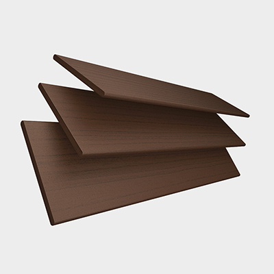 Lima Faux Wood with Coffee Tape Wooden Venetian Blind 3 Slats