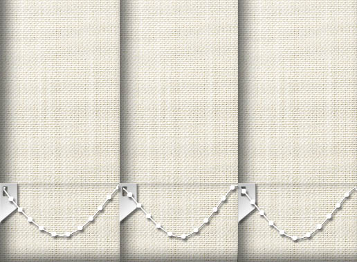 Made to Measure Linen Cotton Vertical Blinds