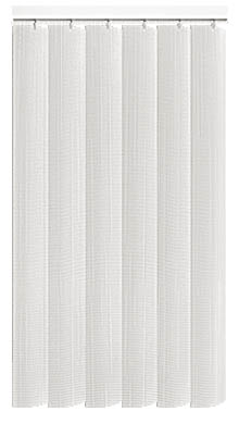 Linum Brilliant White Rigid PVC Vertical Blind Main Image