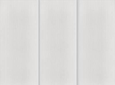 Linum Chalk White Rigid PVC Vertical Blinds Close Up
