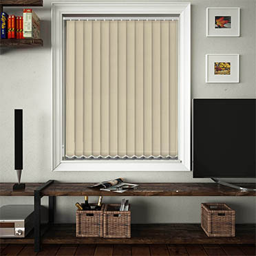 Replacement Vertical Blind Slats Luxe Biscotti Main