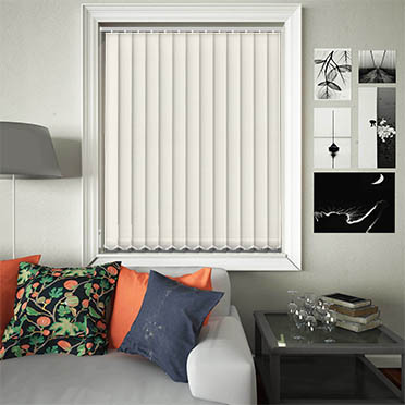 Replacement Vertical Blind Slats Luxe Cream Main