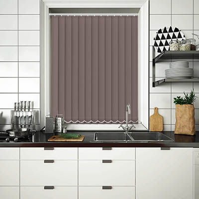 Replacement Vertical Blind Slats Luxe Espresso Main