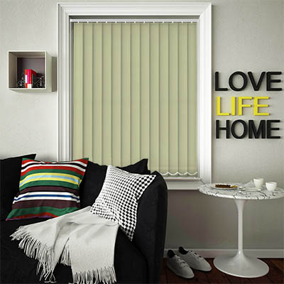 Replacement Vertical Blind Slats Luxe Green Main