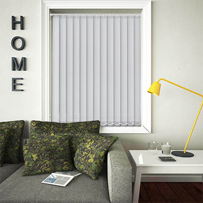 Replacement Vertical Blind Slats Luxe Iron Main
