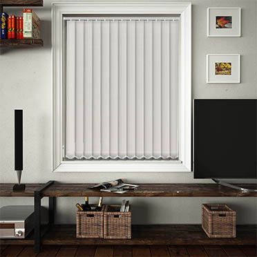 Replacement Vertical Blind Slats Luxe Pearl Main