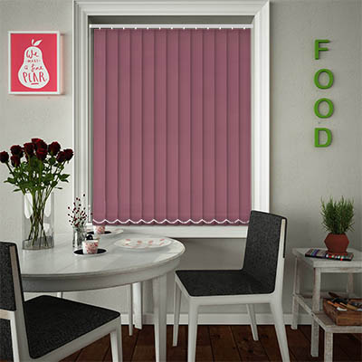 Replacement Vertical Blind Slats Luxe Plum Main