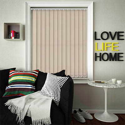 Replacement Vertical Blind Slats Luxe Sand Main