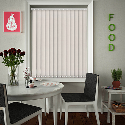 Replacement Vertical Blind Slats Luxe Stone Grey Main